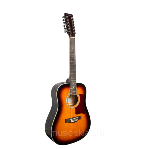 Акустическая 12 струнная гитара -Caraya-F64012-BS