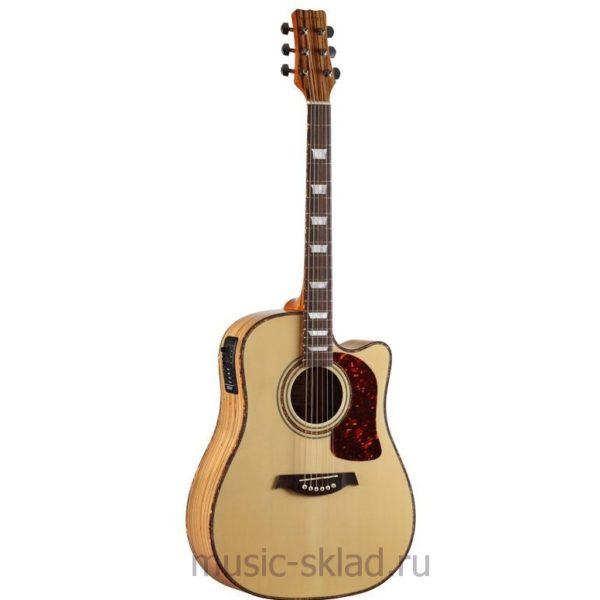 Электроакустическая гитара Martinez-w-124bcn