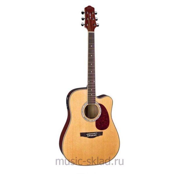Электроакустическая гитара - Naranda-DG220CEN