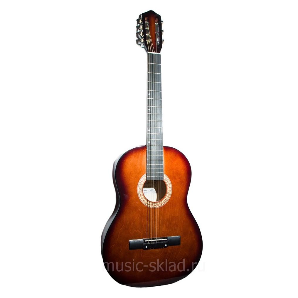 Акустическая гитара -7 струнная матовая Amistar-M-31-7