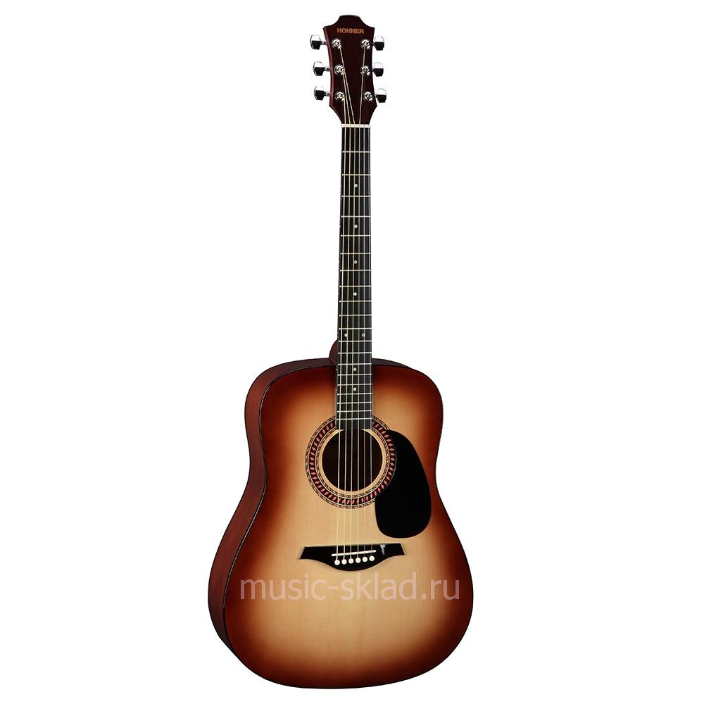 Акустическая гитара - Hohner-HW220SB