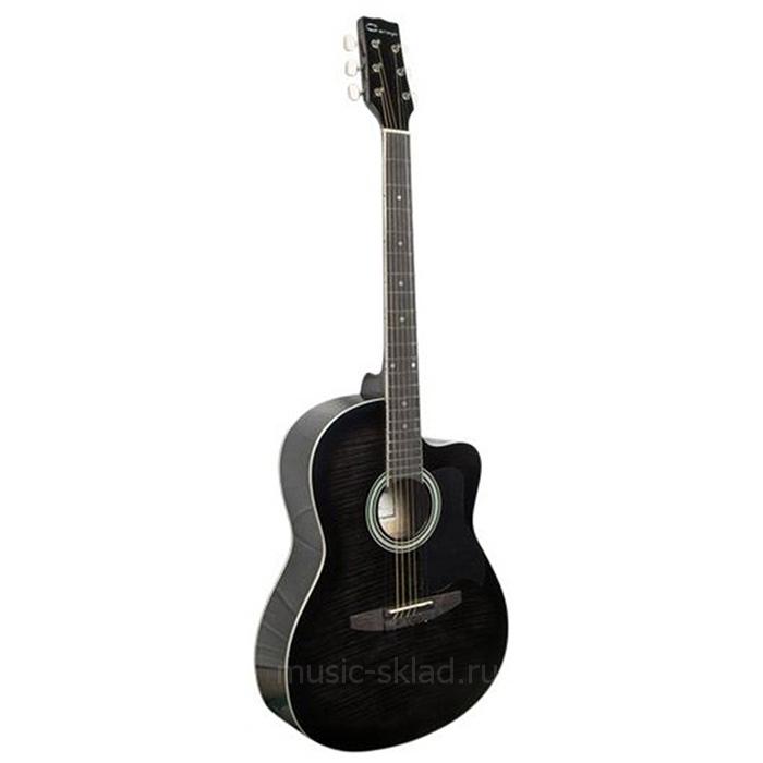 Акустическая гитара с вырезом Caraya-C901T-BK