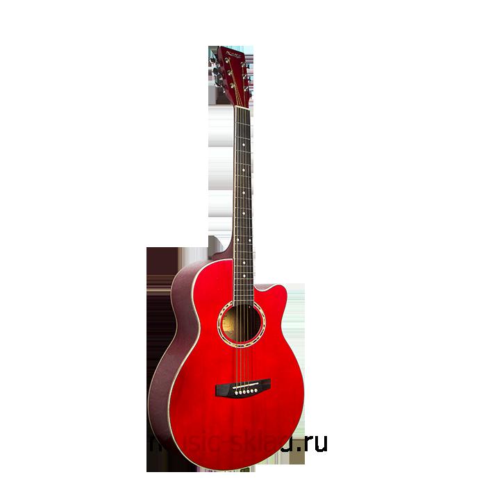 Акустическая гитара с вырезом Homage-LF-401C-R