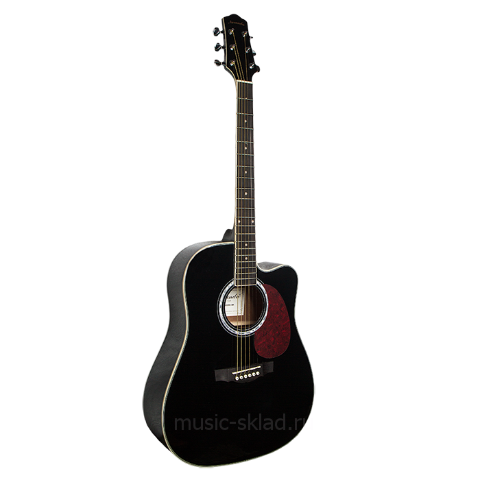 Акустическая гитара с вырезом Naranda-DG220CBK