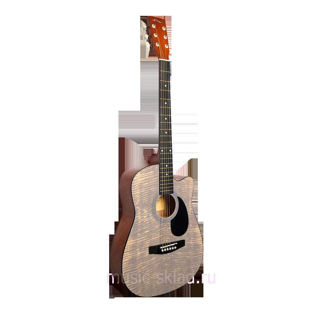 Акустическая гитара с вырезом Homage-LF-3800CT-N