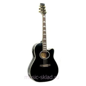 Электроакустическая гитара Martinez-FAW-817EQ-B
