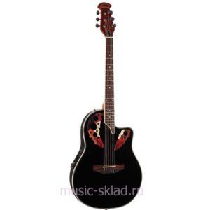 Электроакустическая гитара Martinez-W164P-BK