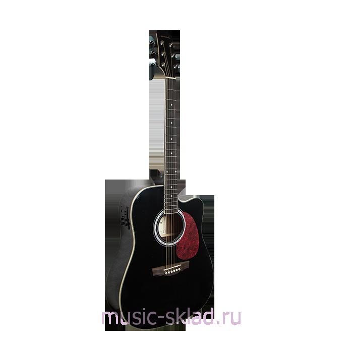 Электроакустическая гитара - Naranda-DG220CEBK