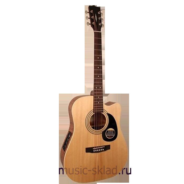 Электроакустическая гитара - Parkwood-W84FM-OP