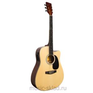 Электроакустическая гитара с вырезом -Homage-LF-4121CEQ