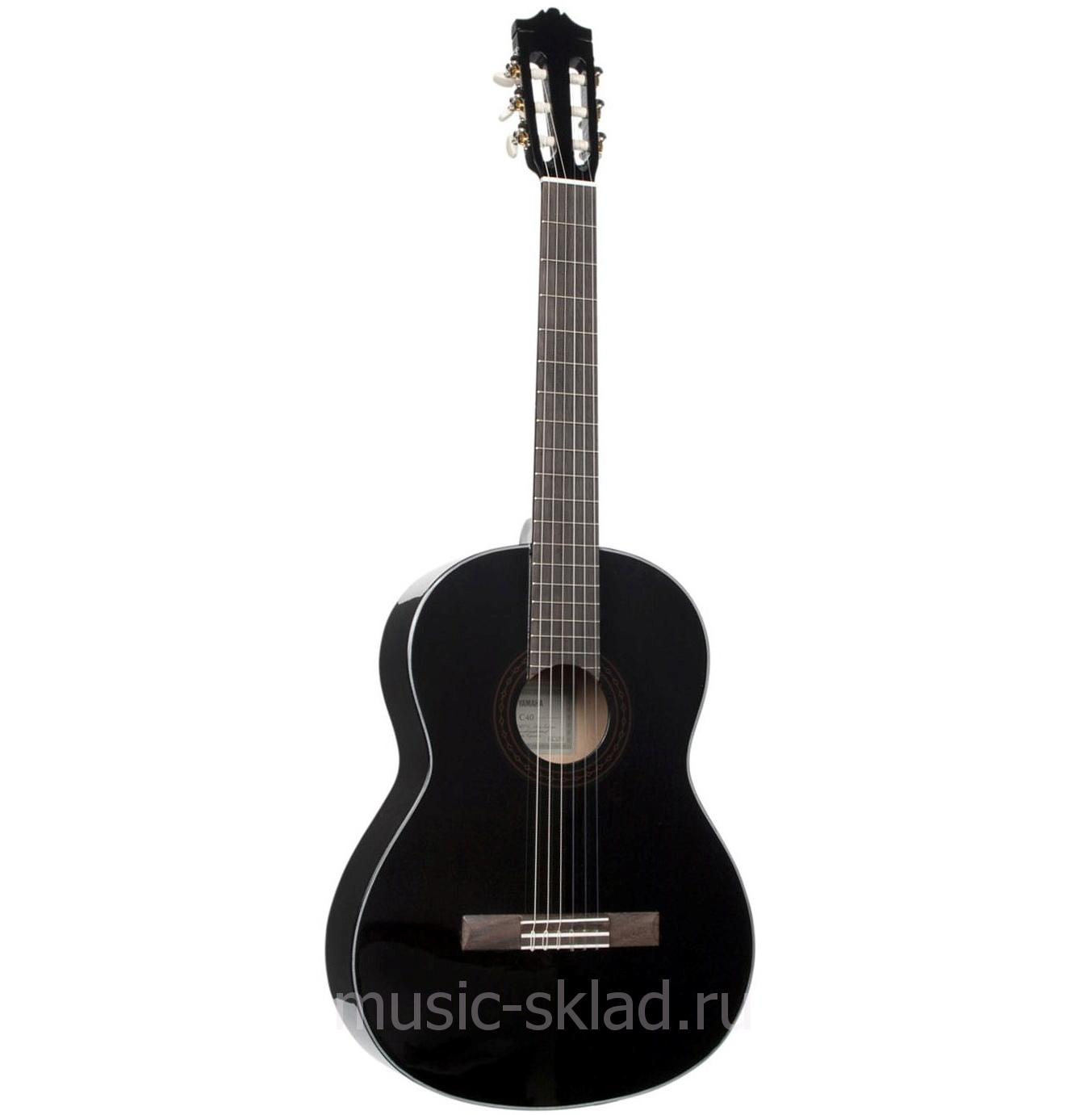 Классическая гитара Yamaha-c40bl