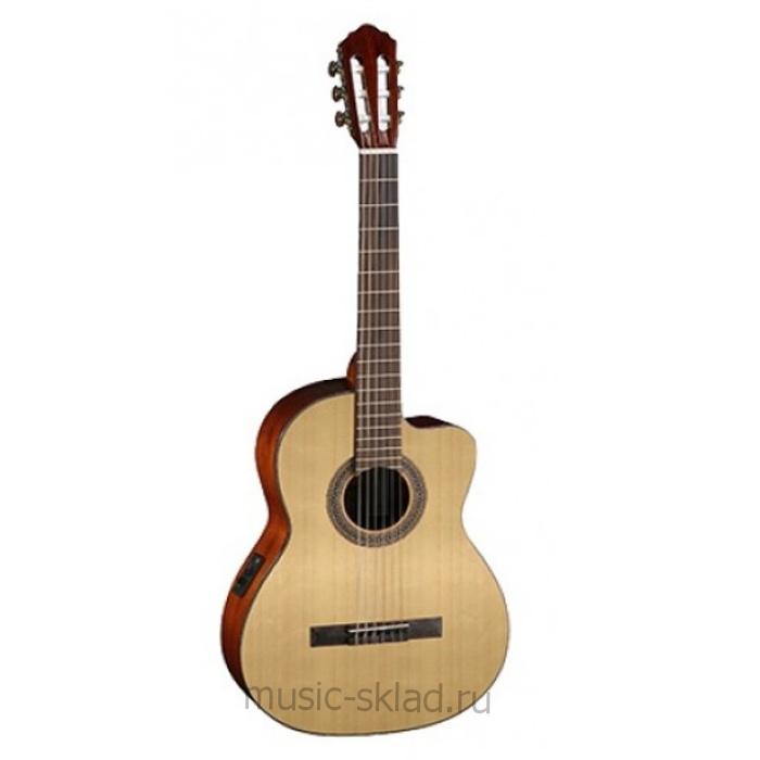 Классическая гитара с вырезом и с подключением Parkwood-PC110