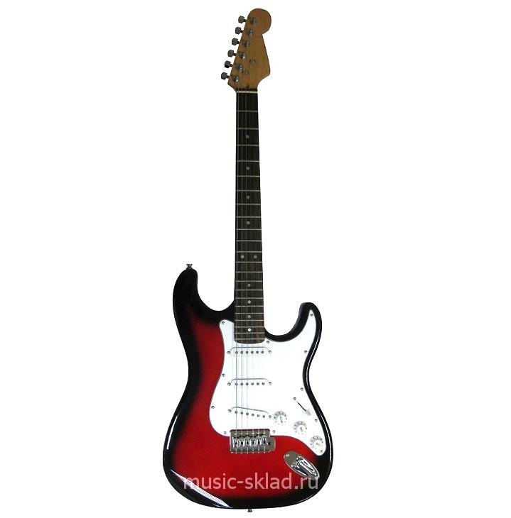 Электрогитара Stratocaster Fender Style RD с чехлом
