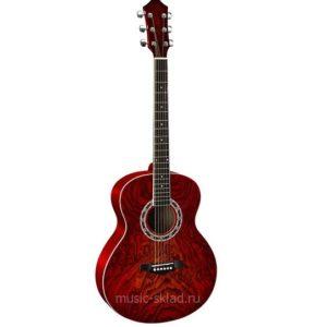 Акустическая гитара Homage RA-A04-CS c чехлом